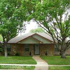 Rental info for 3011 Lockmoor Lane in the Dallas area
