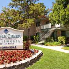 Rental info for Pebble Creek