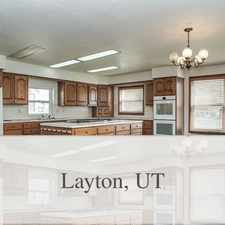 Rental info for Very Spacious Home For Rent In Layton!