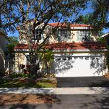 Rental info for 943 Jade Court in the 33327 area