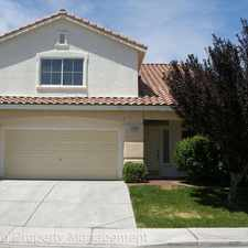 Rental info for 3120 Macaroon Way in the North Las Vegas area