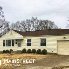 Rental info for 10538 Anson Drive in the St. Louis area