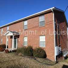 Rental info for 2BD/1A Apartment in the Louisville-Jefferson area