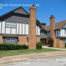 Rental info for 2522 South Florence Avenue in the Tulsa area