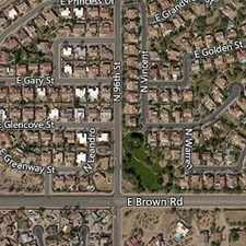 Rental info for House In Move In Condition In Mesa in the Mesa area