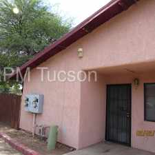 Rental info for GREAT LOCATION - SPACIOUS 2 BEDROOM UNIT - WASHER/DRYER INC. in the Tucson area
