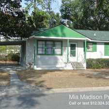 Rental info for 2110 e 57th Street in the Savannah area