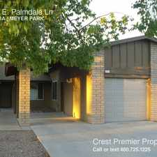 Rental info for -1506 E. Palmdale Ln in the Tempe area