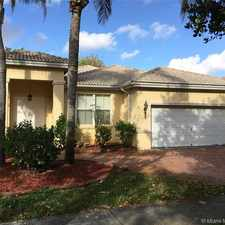 Rental info for 2366 Southwest 125th Avenue in the Pembroke Pines area