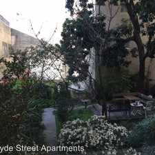Rental info for 537 Hyde Street #4 in the San Francisco area