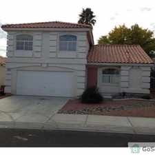 Rental info for STUNNING 3 BR 3 BA HOUSE FOR RENT IN NW AREA in the Las Vegas area