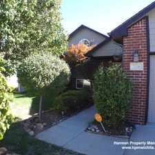 Rental info for 2346 S Stoney Point St in the Wichita area