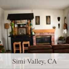 Rental info for House In Great Location in the Simi Valley area