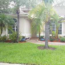 Rental info for 13751 NW 23rd St in the 33028 area