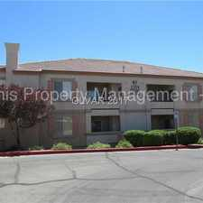 Rental info for LOVELY 1ST FLOOR CONDO IN GATED SUMMERLIN COMMUNITY in the Las Vegas area