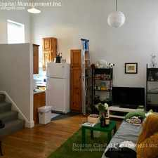 Rental info for Northampton St & Shawmut Ave in the Boston area