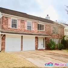 Rental info for 3611 Darnell Ct in the Houston area