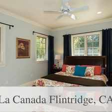 Rental info for Welcome To This Prime Flintridge Neighborhood. in the Los Angeles area