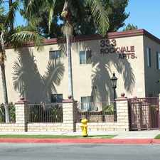 Rental info for Welcome To Rockvale Apartments N. in the Azusa area