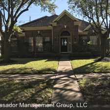 Rental info for 915 Evandale Lane in the Houston area