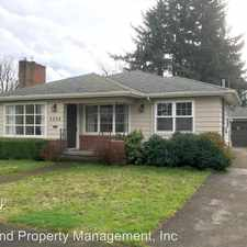 Rental info for 5024 SE Reedway in the Portland area