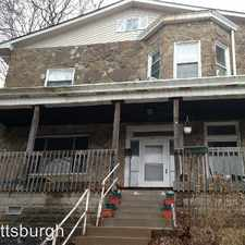 Rental info for 62 Grace St - 1 in the Pittsburgh area