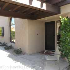 Rental info for 2528 Pebble Beach Drive in the Lake Havasu City area