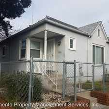 Rental info for 2230 18th Street in the Land Park area