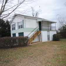 Rental info for 2 BR/1 BA APARTMENT EAST RIDGE in the Chattanooga area