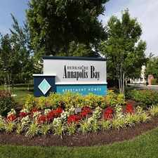 Rental info for Berkshire Annapolis Bay