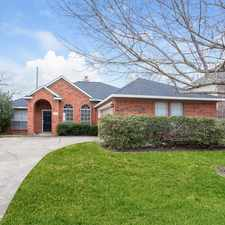 Rental info for 4522 West Thunderwood Circle in the 77545 area