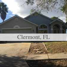 Rental info for House For Rent In CLERMONT.