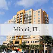 Rental info for Beautiful Miami Apartment For Rent. Parking Ava... in the Miami area