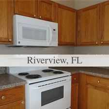 Rental info for House For Rent In RIVERVIEW. Parking Available! in the Tampa area