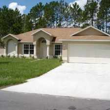 Rental info for 3 Bedrooms House In Palm Coast. Parking Available!