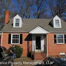 Rental info for 7609 Woodman Rd in the Laurel area