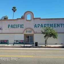 Rental info for 2102 S Pacific Ave Apt 14 in the Los Angeles area