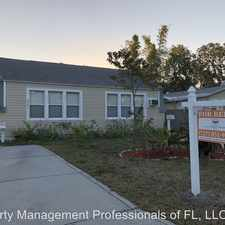 Rental info for 6849 3rd St N in the St. Petersburg area
