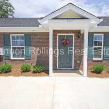 Rental info for AVAILABLE MARCH 7th WONDERFULLY KEPT, LOW MAINTENANCE 2 BD 2BA TOWNHOME in the Augusta-Richmond County area