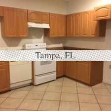 Rental info for Large 3 Bedroom, 2. 5 Bath Townhouse in the Tampa area