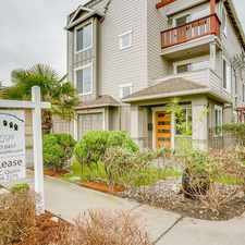 Rental info for Live Large in Your Own Impeccable Alki Beach Townhome! in the Seattle area