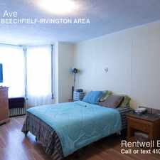 Rental info for 351 Yale Ave in the Baltimore area