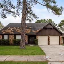 Rental info for 8507 Stagewood Drive in the Houston area