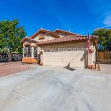 Rental info for 8772 W Quail Ave - Charming 4 Bed 2 Bath W/ PRIVATE POOL In Peoria! - 87th. Ave. & Lake Pleasant Pky. - CALL TODAY! in the Glendale area