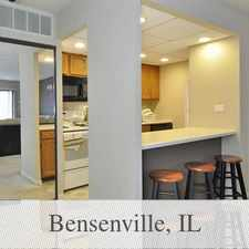 Rental info for Spacious 1Br With Fireplace And Huge Walk In Cl... in the Bensenville area