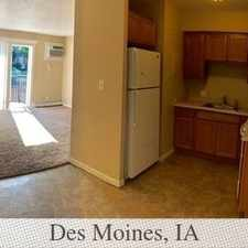 Rental info for 2 Bedrooms Apartment In Quiet Building - Des Mo... in the Des Moines area