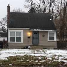 Rental info for Amazing 3 Bedroom, 1 Bath For Rent in the Detroit area