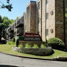 Rental info for Terrace Park Apartments Warmly Welcomes You! in the Roseville area