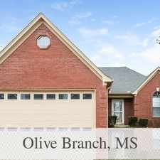 Rental info for Nice Family House For Rent. Pet OK! in the Olive Branch area