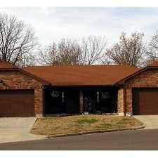 Rental info for Apartment For Rent In Rolla. 2 Car Garage!